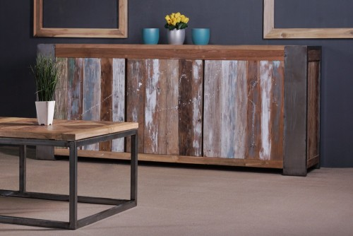 reclaimed wood furniture PFCS-01