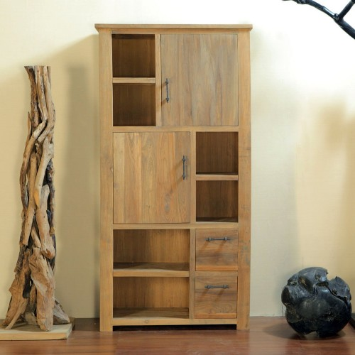 reclaimed wood furniture - storage cabinet