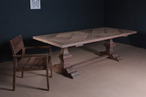 Mozaik Reclaimed Teak Dining Table Furniture Wholesale